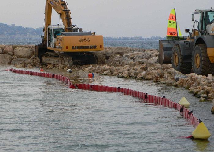 Barrage de Travaux Maritime Antipollution BTM
