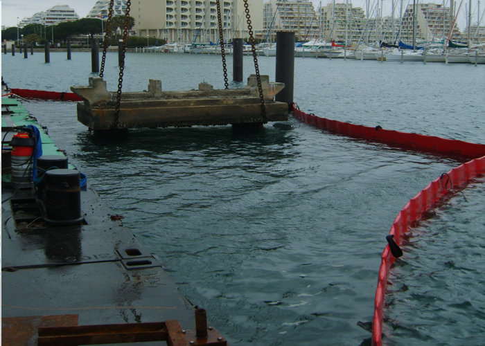 Barrage de Travaux Maritime BTM Antipollution