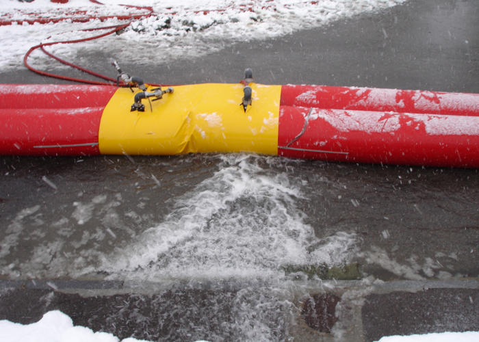 Barrage de protection inondation WaterRails