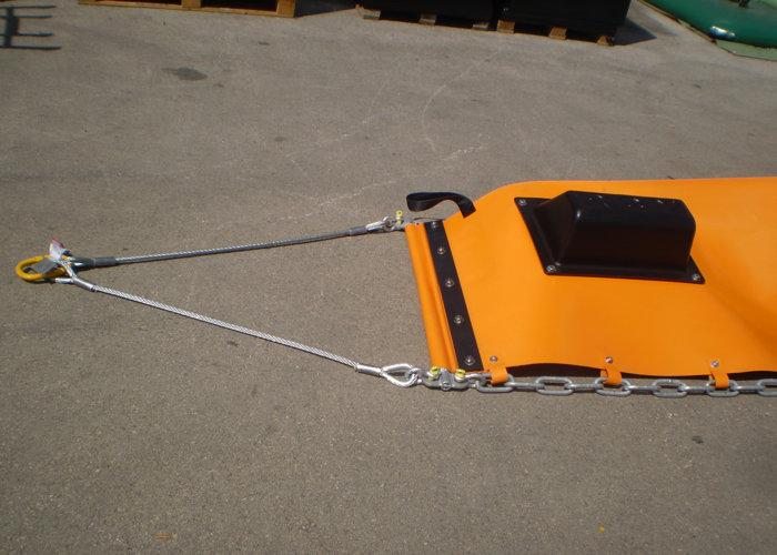 Barrage flottant anti-pollution Saone 3