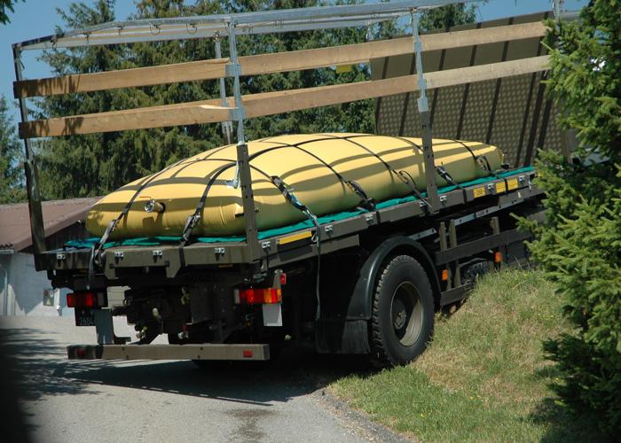 Citerne souple transportable