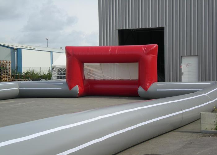 Structure gonflable foot sur mesure