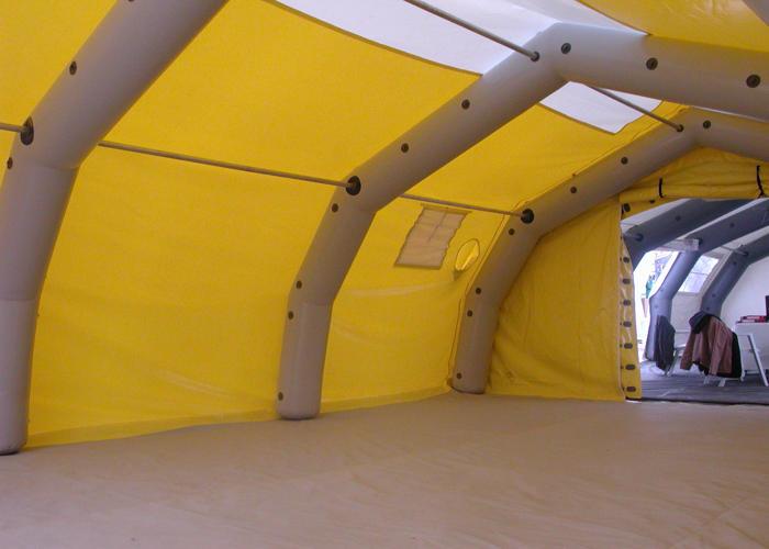 Tente Gonflable à Pannes Metalliques