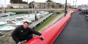 boudin anti inondation à l'Ile de Ré par RCY