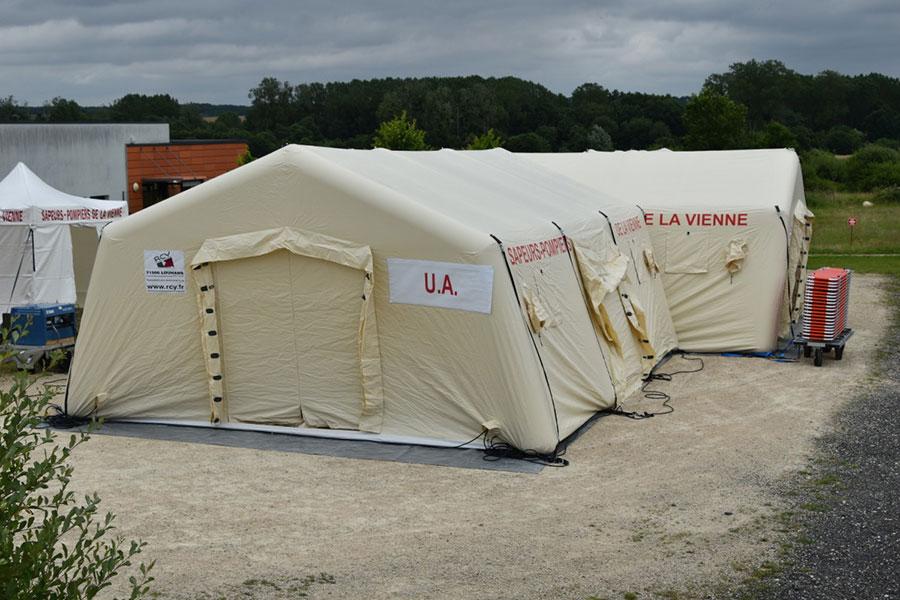 Tente Gonflable PMA - Poste Médical Avancé
